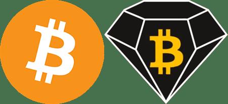 Het verschil tussen Bitcoin en Bitcoin Diamond