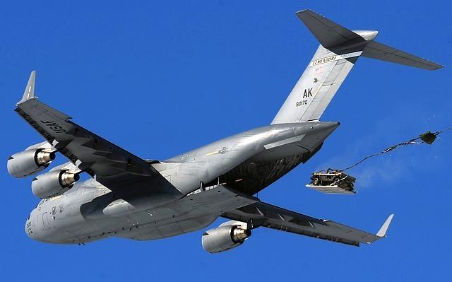 Airdrop vliegtuig