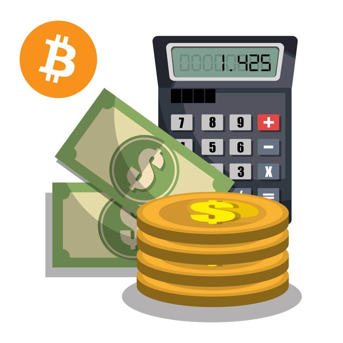 waarde van cryptocurrency berekenen