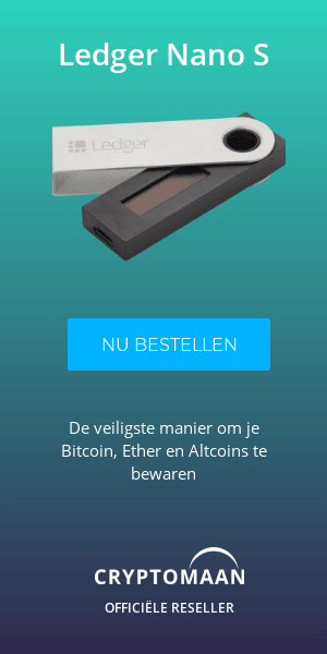 Ledger Nano S Advertentie Cryptomaan